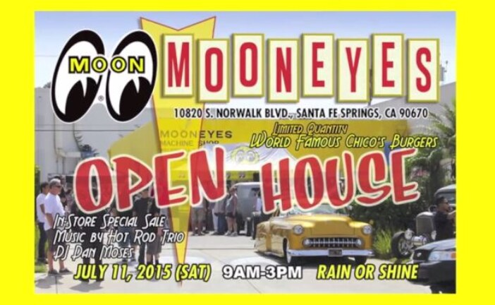 Mooneyes Open House in Santa Fe, California