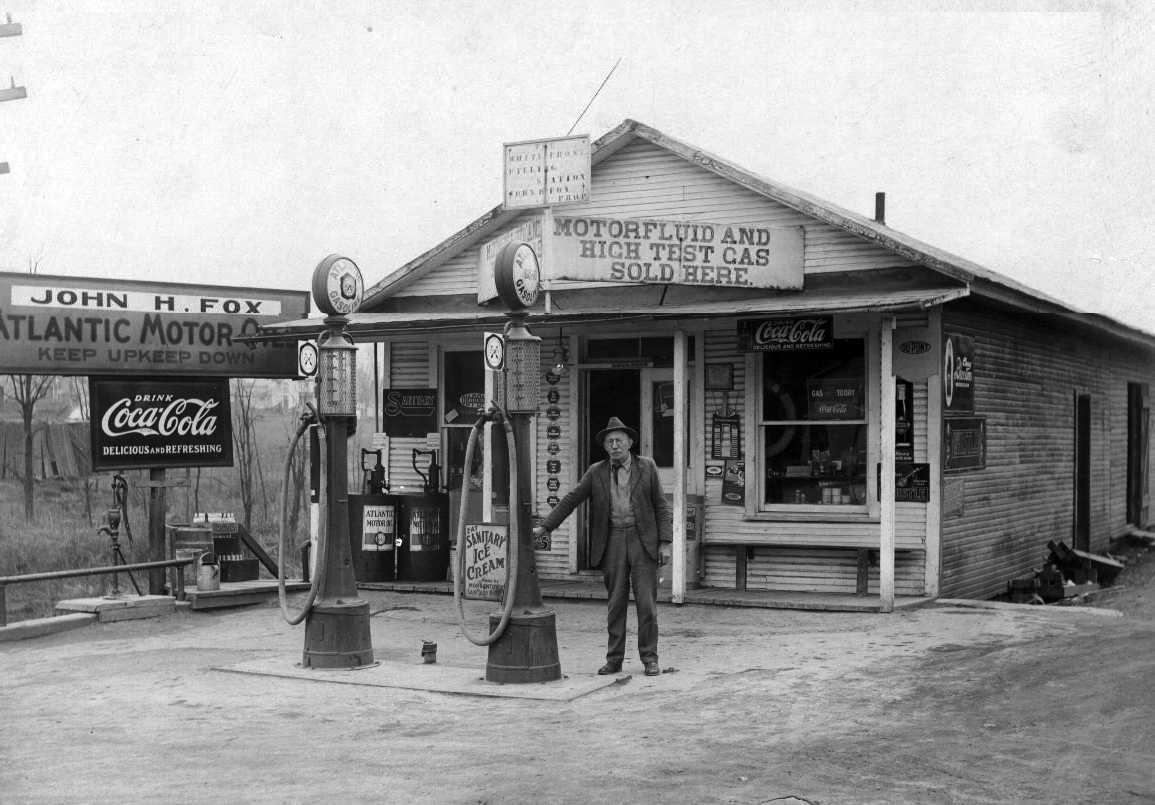 5 Rare Vintage Gas Stations - Daily Rubber