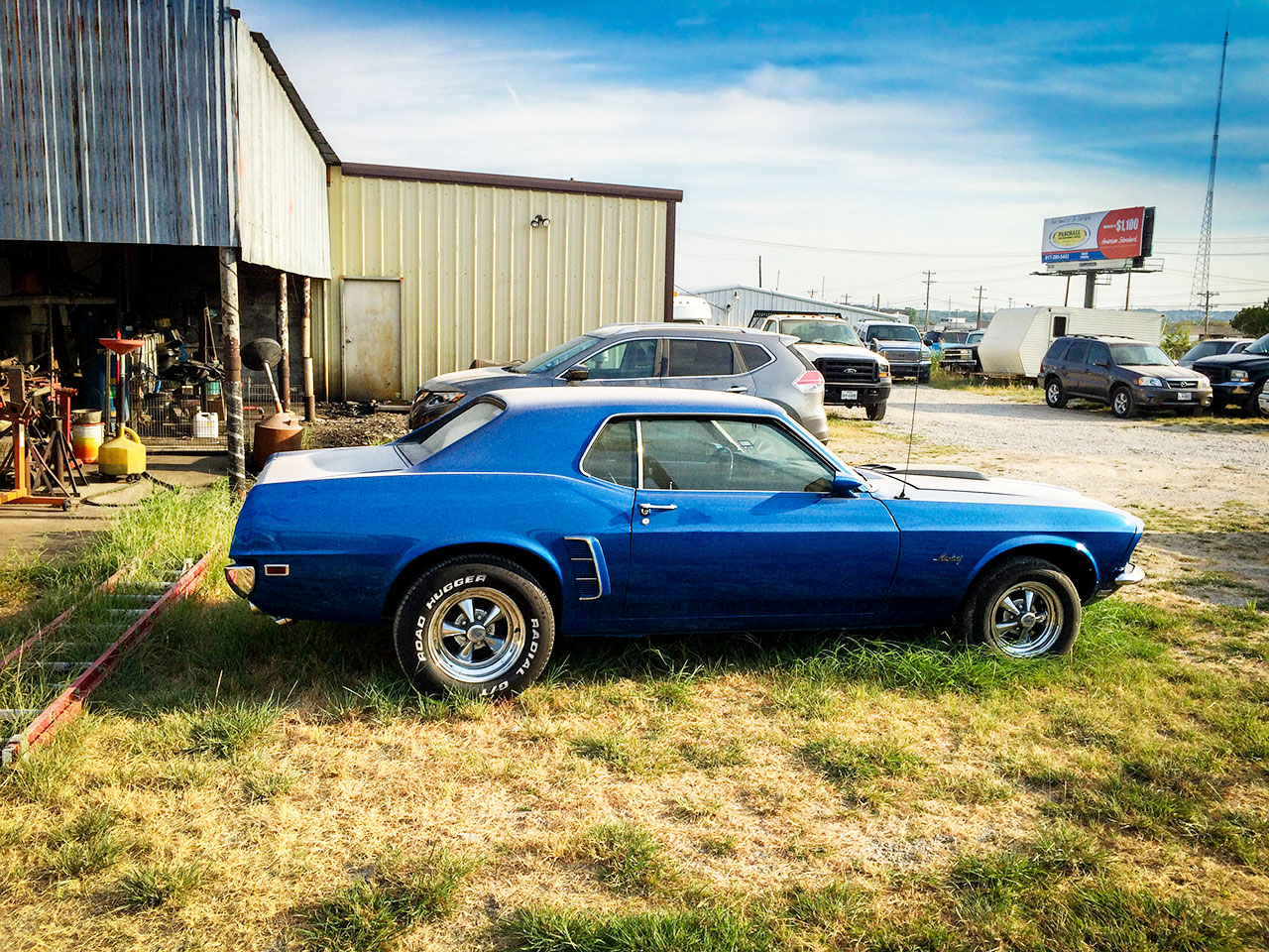 The 1969 Blue Mustang That Made My Wish List1969 Mustang Coupe Blue