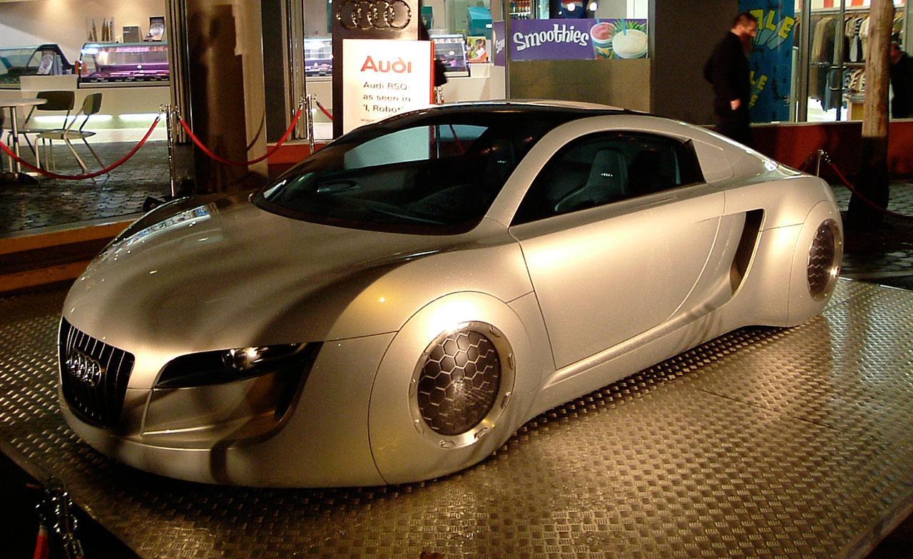 Audi Car Used In I Robot