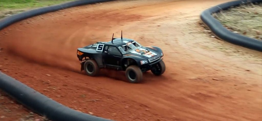 Autonomous Rally Truck