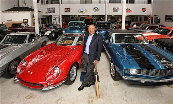 Reggie Jackson's cars