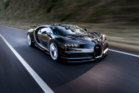 The Absurdly Fast 2017 Bugatti Chiron is Here