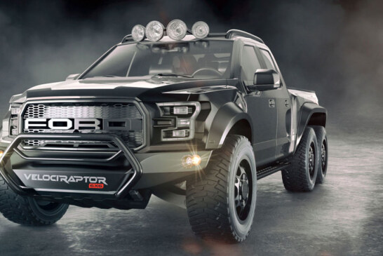 Hennessey Is Making A 600-BHP Truck With 6 Wheels: The VelociRaptor 6X6