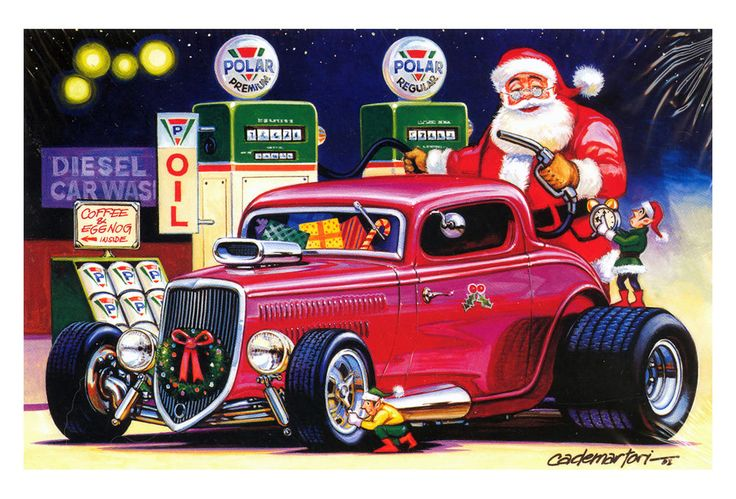 Santa Car Driving Games