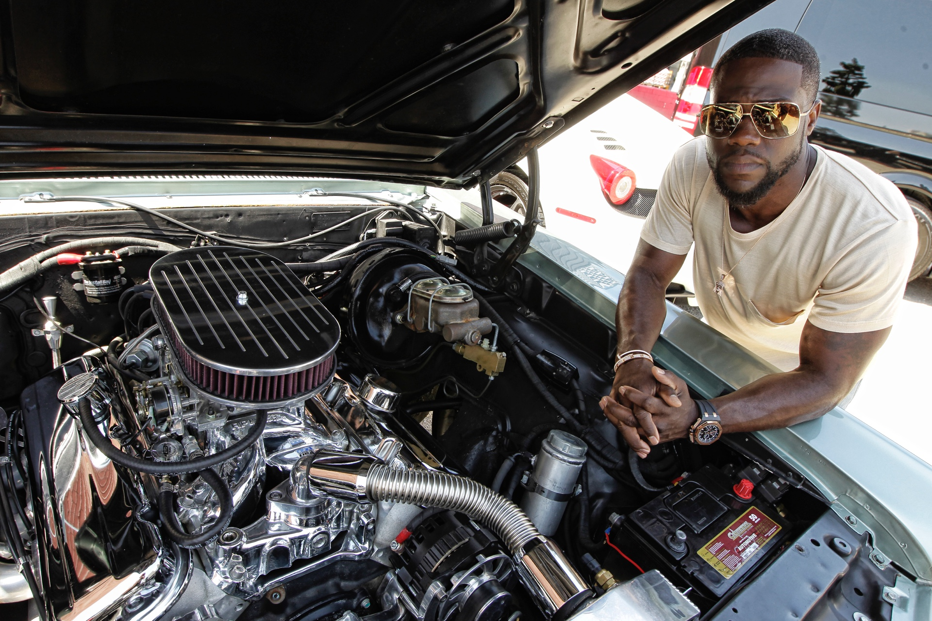 2017 Ford Bronco >> Kevin Hart: Actor, Comedian and Car Guy - Daily Rubber