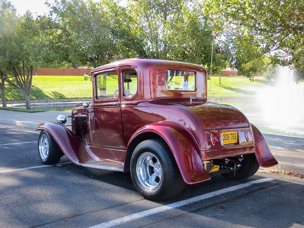 The Psychedelic Relic - Model A Street Rod - Daily Rubber