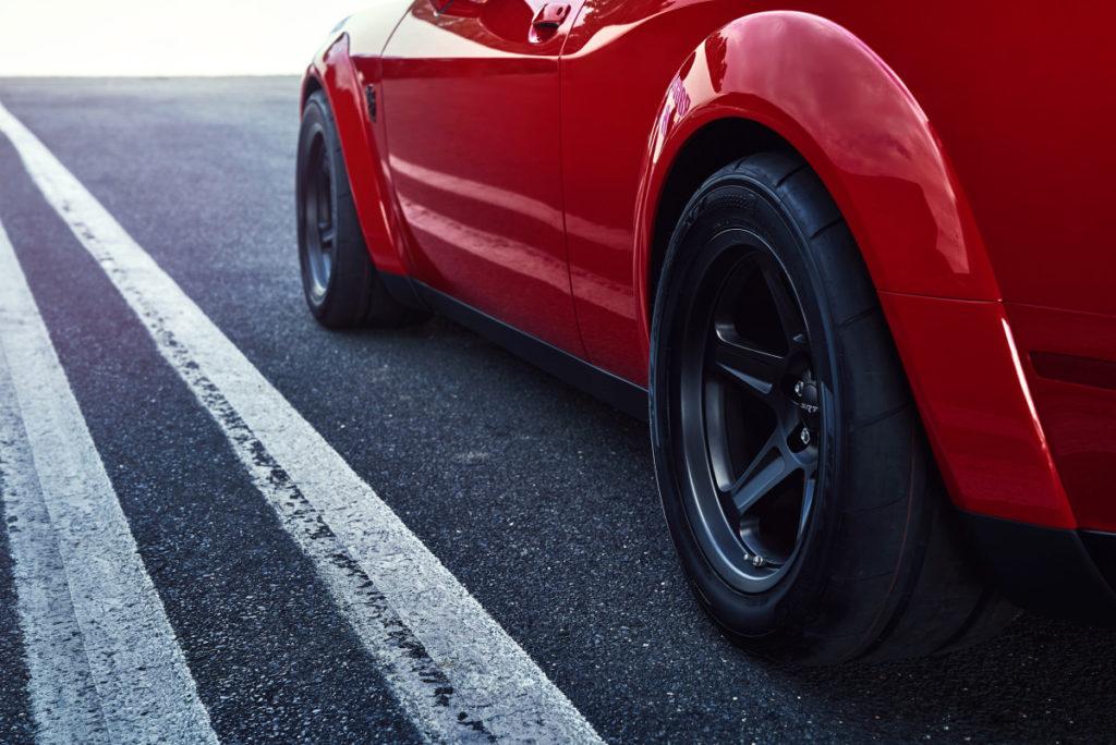 Dodge Demon tires