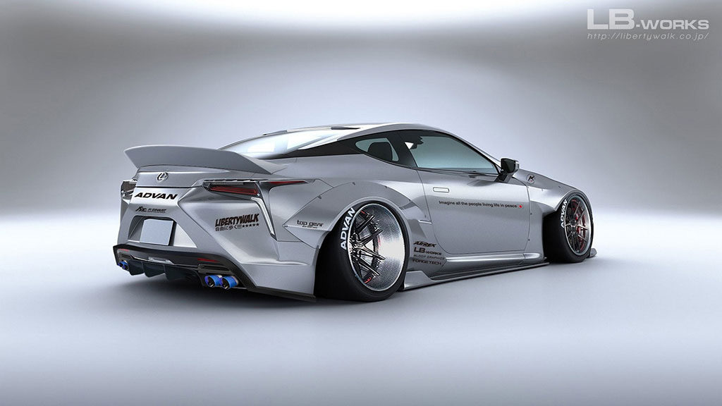 Does The Liberty Walk Custom Mods Work For The Lexus LC500 ...